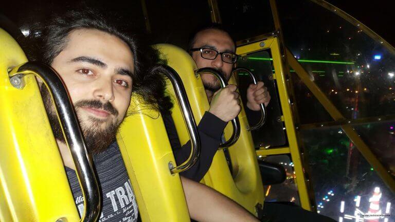 Ankara Gençlik Parkı Adrenalin Gece