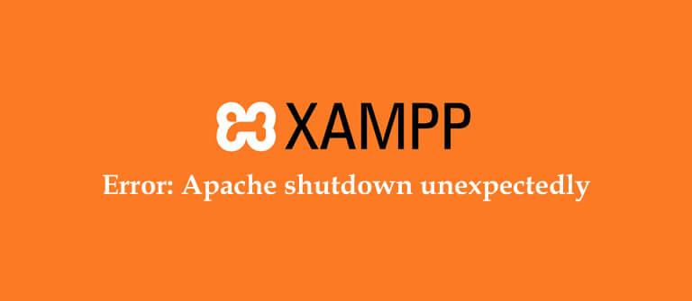 XAMPP Başlatma Hatası ve Çözümü